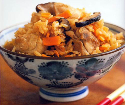 Five-Flavored Rice Recipe