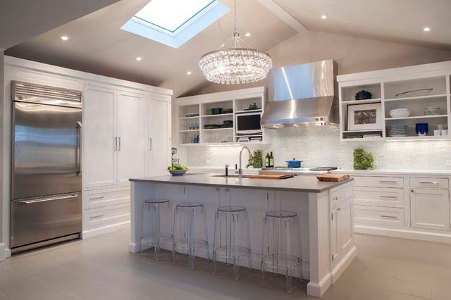 Beach House - Coastal Style Kitchen - Beach Style ...
