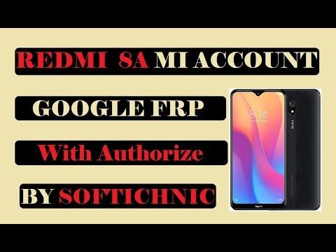 Redmi 8A-(olivelite mi account free file | Redmi 8 mi account frp unlock by softichnic