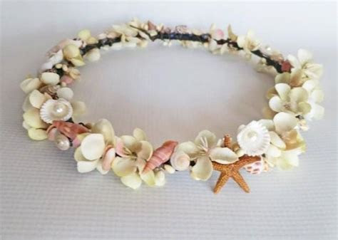 Mermaids Treasure Crown Beach Wedding Crown Crown Of Sea