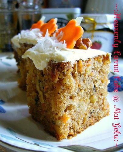 Heavenly Carrot Cake