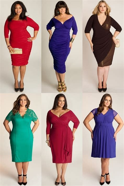 Plus Size Dresses And The Different Looks For The Plus