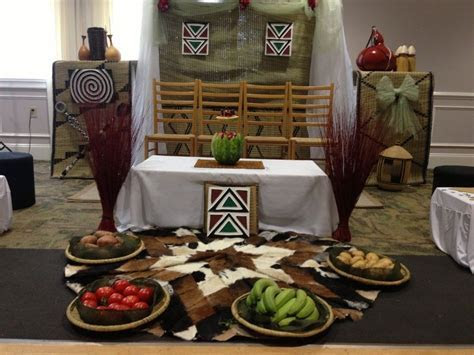 [1] Rwandan Traditional Wedding Decor   Simple Traditional