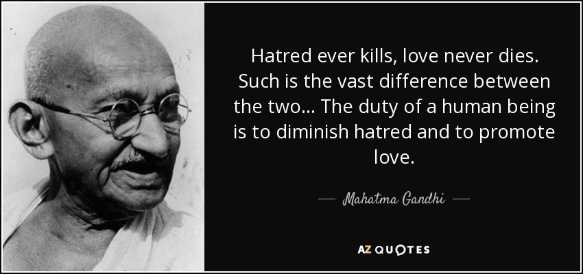 Image result for lOVE KILLS HATRED