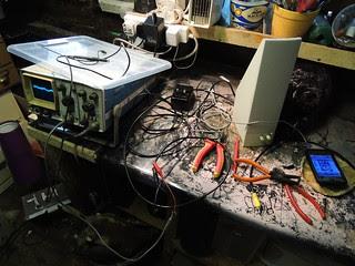 Hacking open audio amplifier