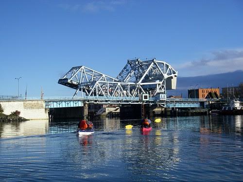 The Bridge Goes Up