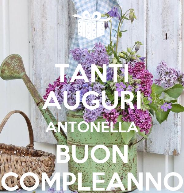 Buon Compleanno Antonella
