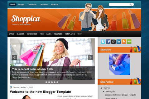 shoppica-blogger-template