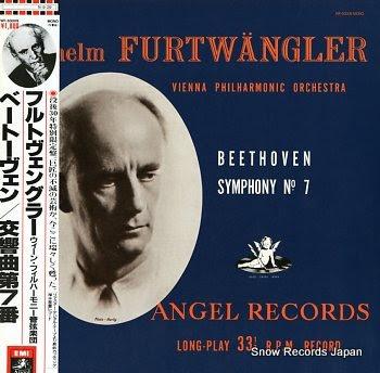 FURTWANGLER, WILHELM beethoven; symphony no.7