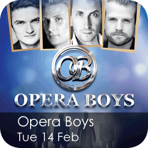 Opera Boys - Tuesday 14 February