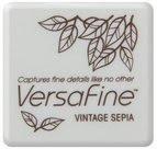 VF-54 Versafine mini inkpad - Vintage Sepia