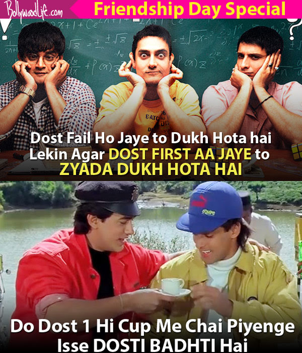 10 Friendship Quotes From Bollywood Films That You Need To Use In
