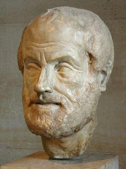 Ο Αριστοτέλης ( 384 - 322 π.Χ. ) ήταν αρχαίος Έλληνας φιλόσοφος και πολυεπιστήμονας, μαθητής του Πλάτωνα και διδάσκαλος του Μεγάλου Αλεξάνδρου. Μαζί με το δάσκαλό του Πλάτωνα αποτελεί σημαντική μορφή της φιλοσοφικής σκέψης του αρχαίου κόσμου, και η διδασκαλία του διαπερνούσε βαθύτατα τη δυτική φιλοσοφική και επιστημονική σκέψη μέχρι και την Επιστημονική Επανάσταση του 17ου αιώνα. Υπήρξε φυσιοδίφης, φιλόσοφος, δημιουργός της λογικής και ο σημαντικότερος από τους διαλεκτικούς της αρχαιότητας.