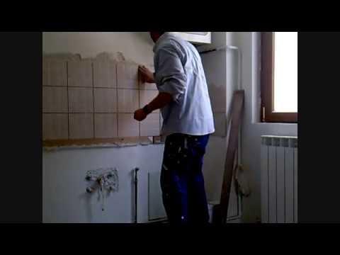 Isolamento termico pareti interne stuccare le fughe delle piastrelle