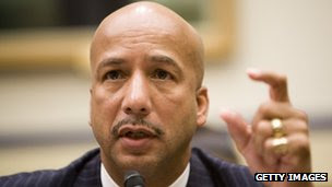 Former New Orleans Mayor Ray Nagin file picture
