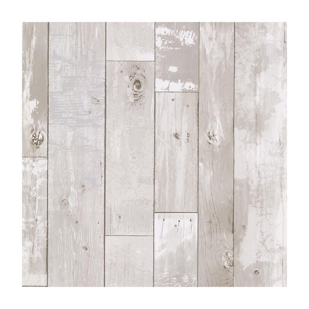 Wood Panel Distressed Wood Panel Wallpaper