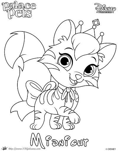 Unicorn Palace Pet Coloring Pages - Inerletboo