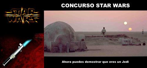 CONCURSO STAR WARS