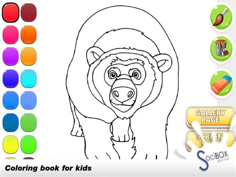 forest animals coloring  apk  android aptoide