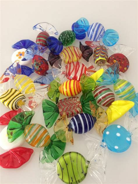 pcs vintage murano glass sweets wedding xmas party candy