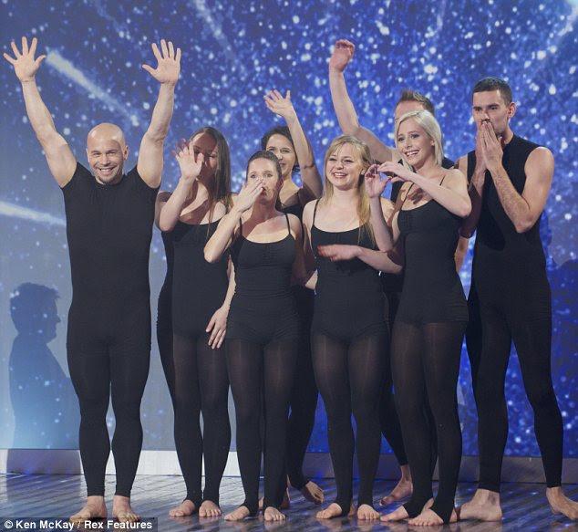 Attraction wins Britain's got talent  2013