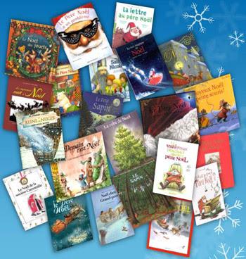 Photo montage d'albums de Noël