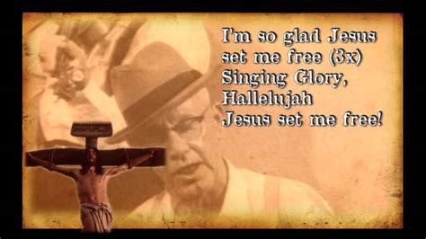im  glad jesus set    fashioned bluegrass