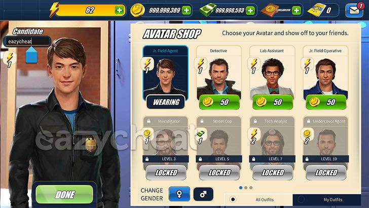 NCIS: Hidden Crimes v1.12.5 Cheats