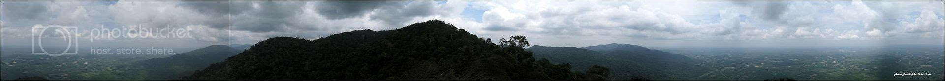360 Mt Datuk Panorama View