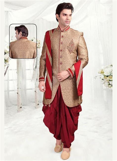 Indian Mens Readymade Designer Wedding Ethnic Dress