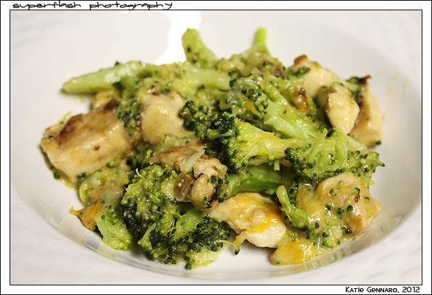 Broccoli-Chicken-Cheese Casserole