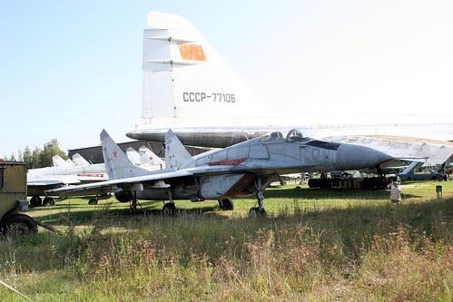 Mikoyan-Gurevich MiG-29 70 blue