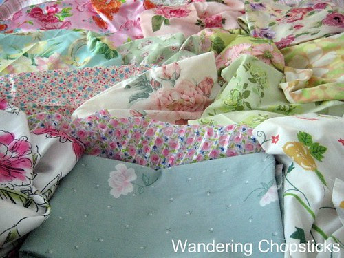 Frowsy Flowery Quilt 9