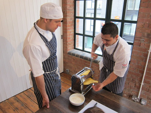 Fifteen pasta making class