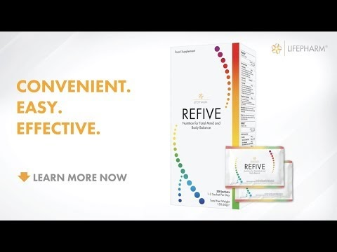 REFIVE - DNA Nutrition for Total Mind and Body Balance