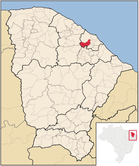 Localização de Maranguape