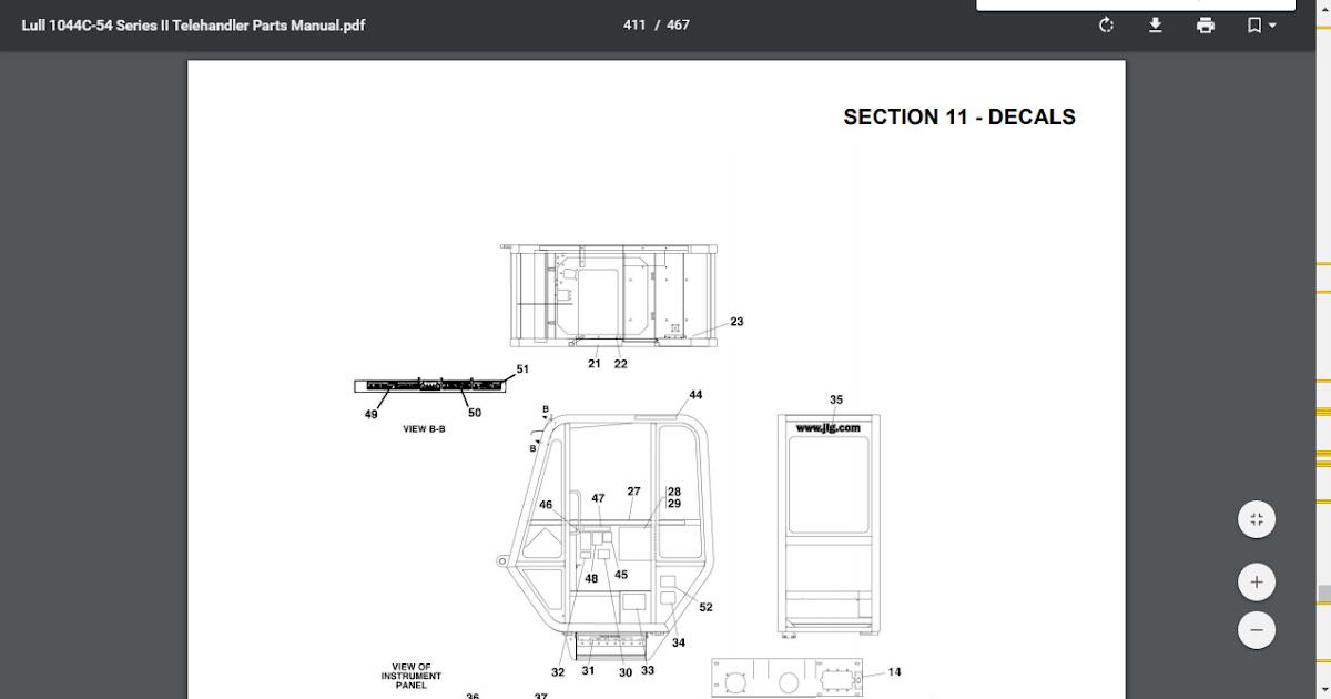 Lull 644d 34 Wiring Diagram