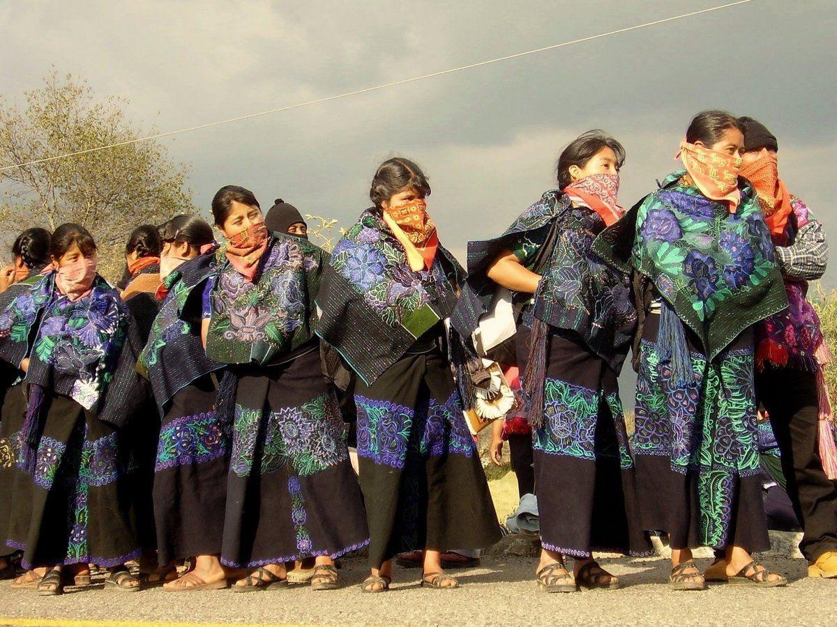 La loi révolutionnaire des femmes de l'EZLN
