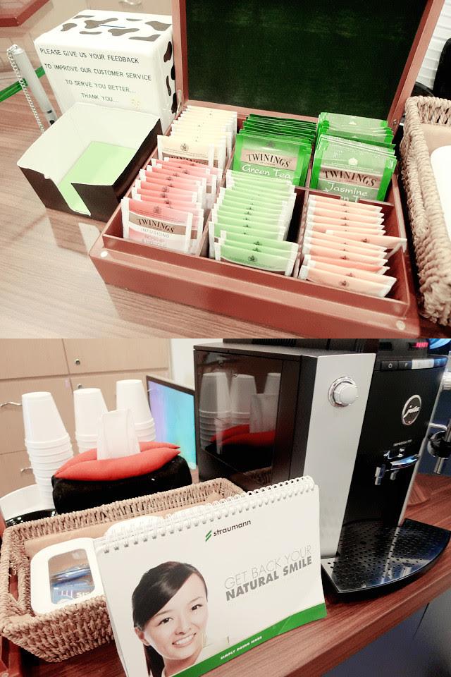 omni dental centre tour coffee tea