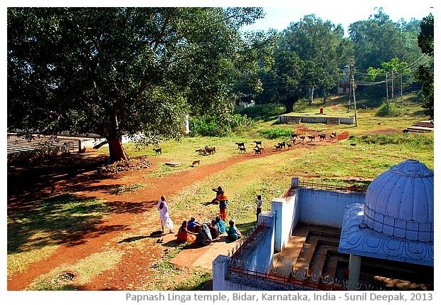 Papnash Linga Temple, Bidar, Karnataka, India - images by Sunil Deepak