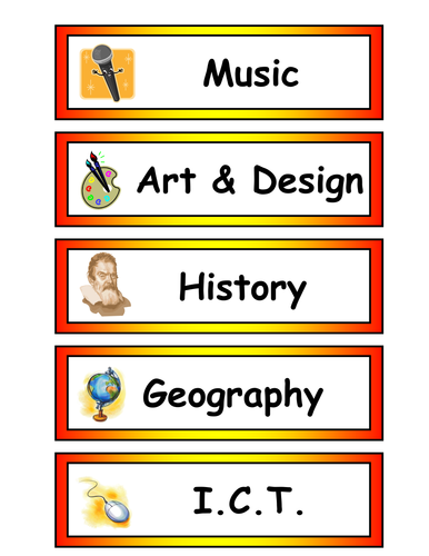 Daily timetable by princessxemma - Teaching Resources - TES