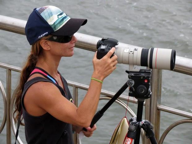 Câmera foi roubada em Guarujá, no litoral de São Paulo (Foto: Silvia Winik/Arquivo Pessoal)