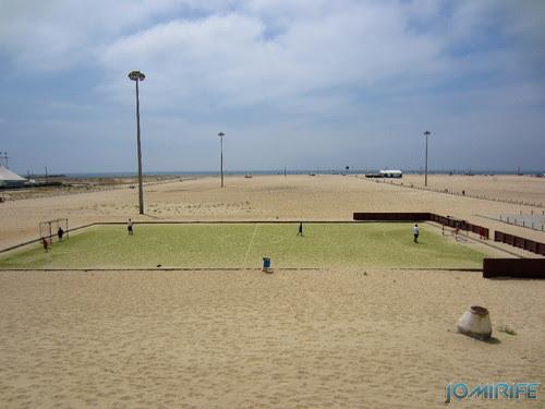 Campos de praia da Figueira da Foz / Buarcos #1 - Futebol em relvado sintético (2) [en] Game fields on the beach of Figueira da Foz / Buarcos - Football on synthetic grass