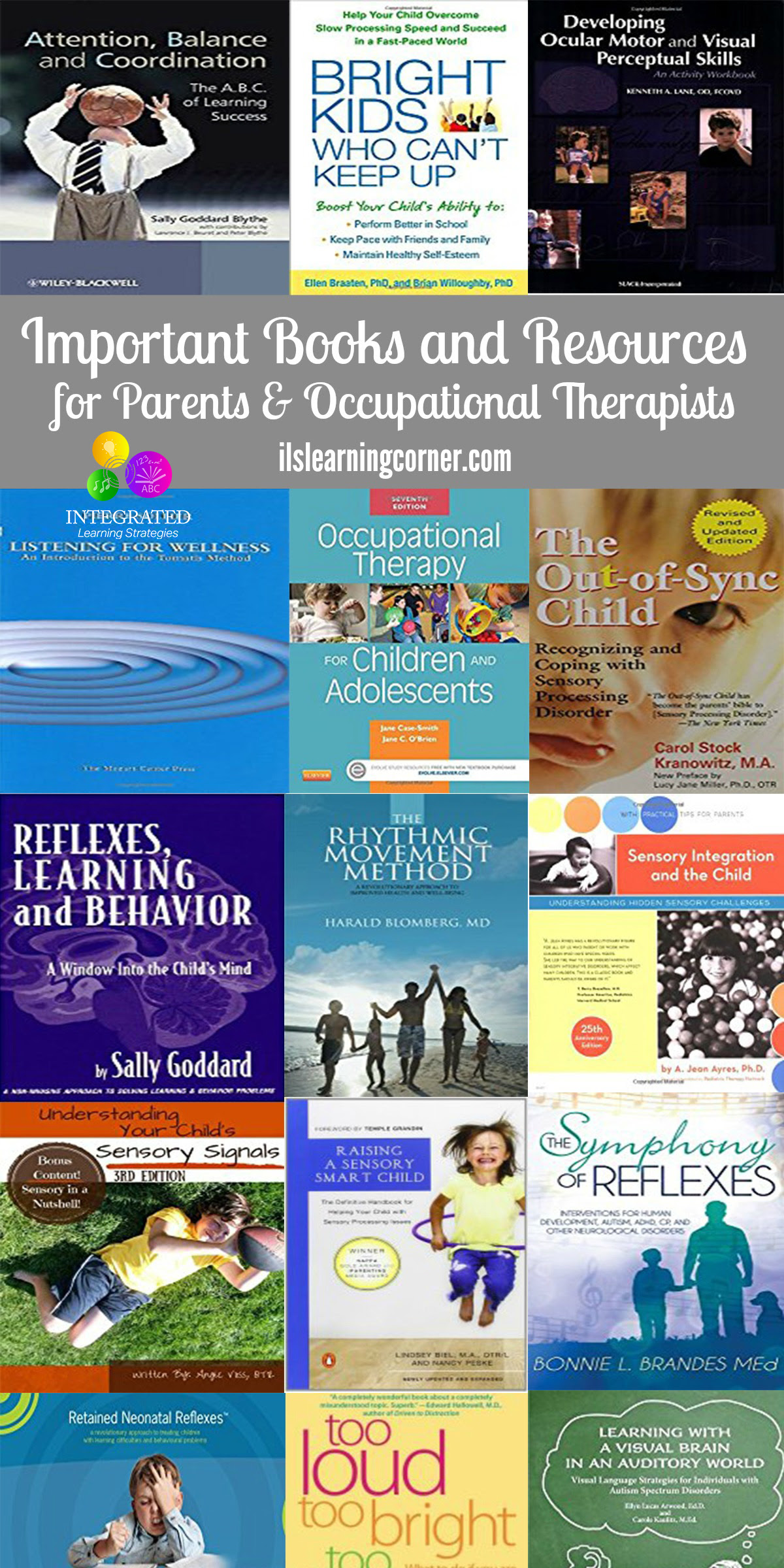 Books and Resources for Occupational Therapists, Parents ...