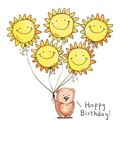 "Funny Birthday Card   ""Sunshine and Smiles"" from CardFool.com"