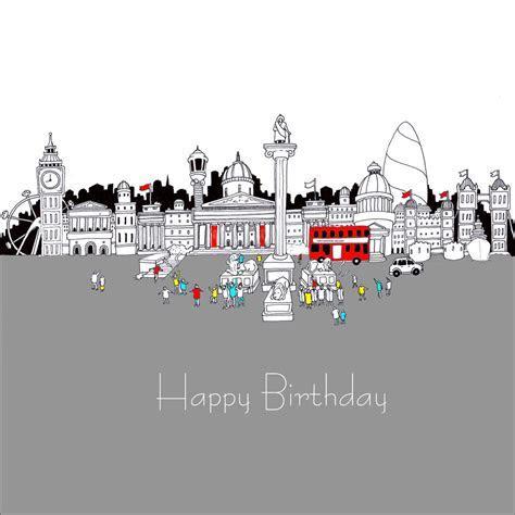 Happy Birthday: Trafalgar Square   Cards Galore