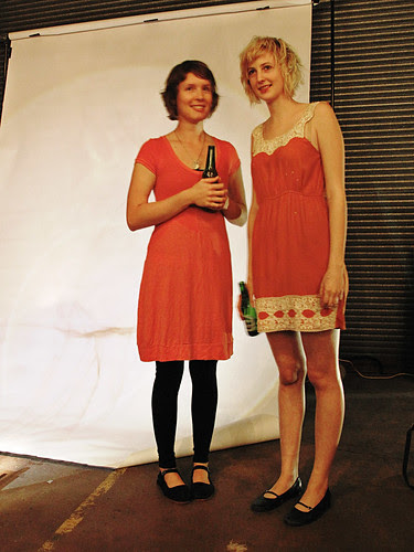 Portrait Two Girls, Spoke + Spool Launch