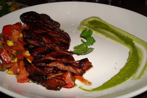 Chili Rubbed Skirt Steak at Beso