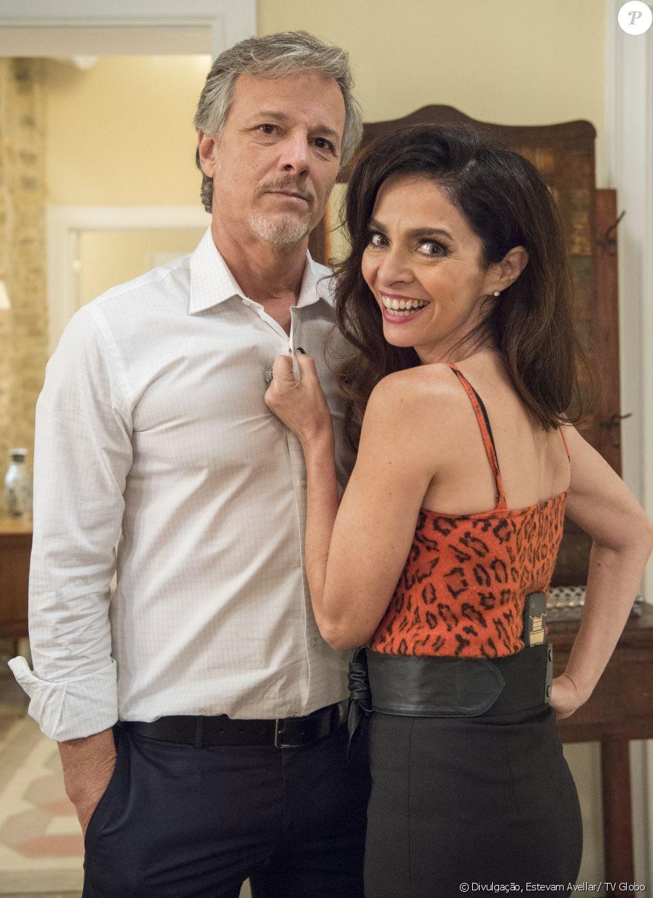 Loretta (Claudia Ohana) está tentando reconquistar Vittorio (Marcello Novaes) e vai pedir ajuda da filha para acabar com o namoro dele com Lenita (Leticia Spiller), na novela 'Sol Nascente', a partir de 16 de dezembro de 2016
