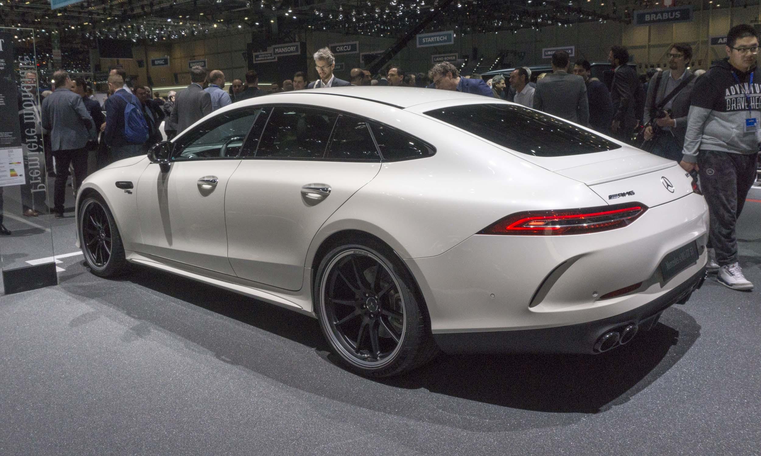 2018 Geneva Motor Show: Mercedes-AMG GT 4-Door Coupe ...